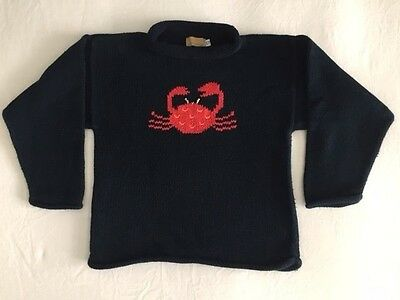 Clauce Roll Neck Crab Sweater ~ Size 12