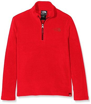 The North Face - Pullover unisex in pile Glacier, zip 1/4, bambino, (M7R)