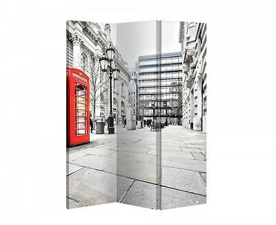 Double Sided Canvas Dressing Screen Room Divider 04092 All Sizes