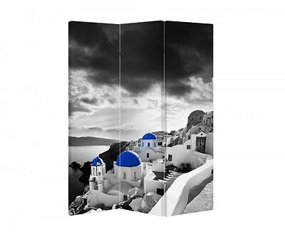 Double Sided Canvas Dressing Screen Room Divider 04285 All Sizes