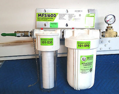 Selecto Scientific Water Filtration System MF5/600 for Commercial Food & Drink