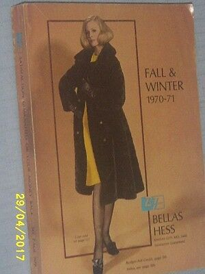 Vintage BELLAS HESS FALL & WINTER  1970-71 CATALOG