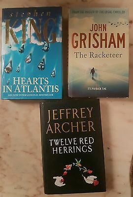 Bulk lot of fiction books  - 3 off