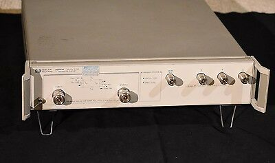 HP 85047A S-Parameter Test Set 300 KHz - 6 GHz for Network Analyzer