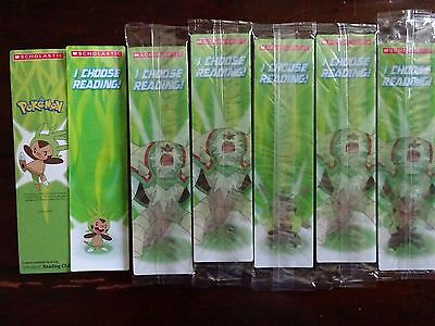 NEW POKEMON LENTICULAR MOTION BOOKMARKS - Lot of 25!  Sealed Packages