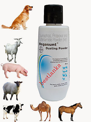 10pcs Negasunt Wound Powder Dog Cattle Horse Sheep Goat Pig Camel Pet First Aid