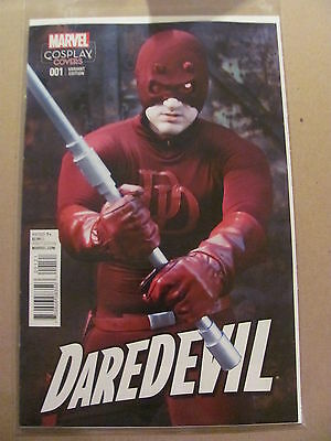 Daredevil #1 Marvel Comics 2015 Series Cosplay Covers Variant 9.6 Near Mint+