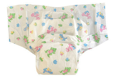 Pack of 2 Diapers - Bambino Magnifico - S/M - L/XL - Plastic - AB/DL