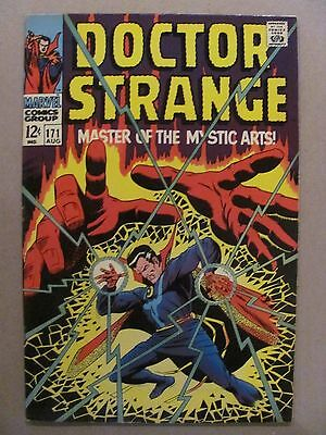 Doctor Strange #171 Marvel Comics 1968 Series