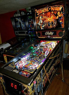 THEATRE OF MAGIC PINBALL MACHINE by Bally with mods