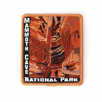 Official Mammoth Cave National Park Souvenir Patch Kentucky