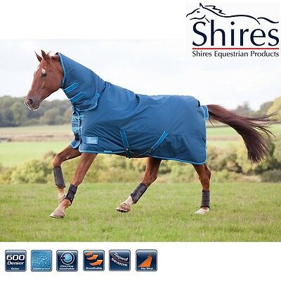 shires Tempest Lite combo turnout rug 6ft Petrol brand new Free Salt Lick