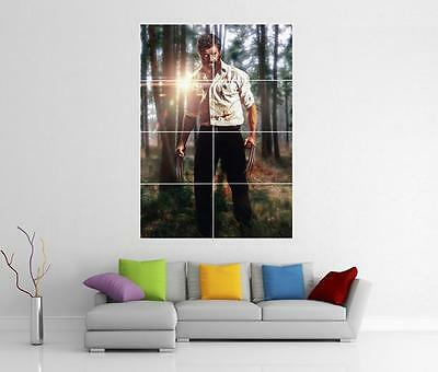 Logan Wolverine Marvel Movie X - Men Giant Xl Wall Art Photo Pic Print Poster