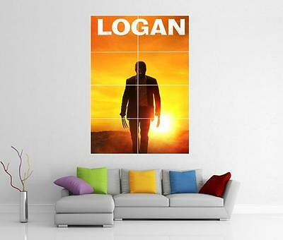 Logan Movie Wolverine Marvel X Men Giant Xl Wall Art Picture Photo Print Poster