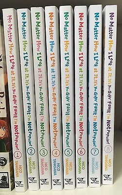 Watamote No Matter How I Look At It... English Manga 1-8