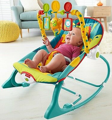 Baby Chair Swing Rocker Bouncer Feeding Seat Toddler Sleeper Music Toy Portable