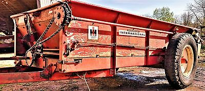 Case International Harvester 130 Bushel Manure Spreader