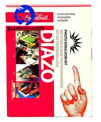 Speedball Diazo Photo Emulsion Kit ASTM Printmaking Screen Printing Kit Supplies