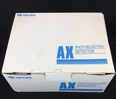 New Optex AX-200 PLUS Photoelectric Detector 200' Foot Range