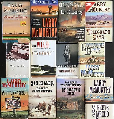 12 Larry McMurtry Books Great Selection
