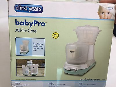 Baby Pro All In One Baby Food Processor Steamer & Blender Fast & Easy