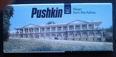 """USSR Postcard set – Pushkin """"Risen from the Ashes.""""  12 cards"""