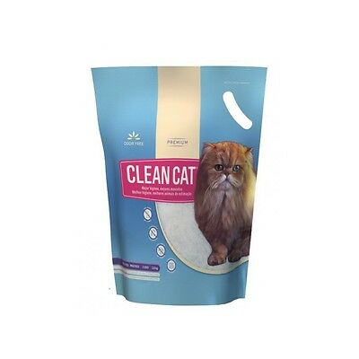 Arena Gatos Clean Cat Práctico 1,8 kg