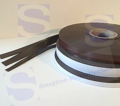 Magnet band,SK,anisotropic,Type A+Type B 1,5mm x 12,7mm x 3.28ft