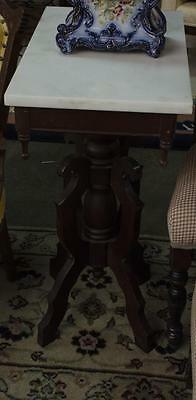Marble top table Lot 335