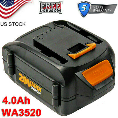 New Replacement Worx 20V WA3525 WA3520 Battery WG160 WG163 Grass Trimmer / Edge