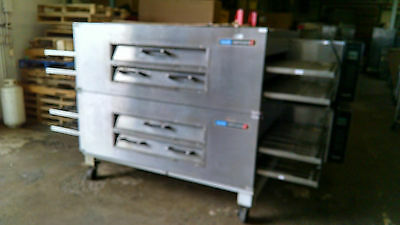 X2 3262-2 Doublestack Gas Conveyor Pizza Ovens - Warranty Avail.