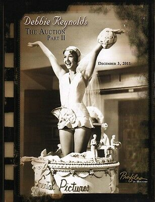 DEBBIE REYNOLDS - THE AUCTION PART II - American Auction Catalogue (UNUSED) C#36