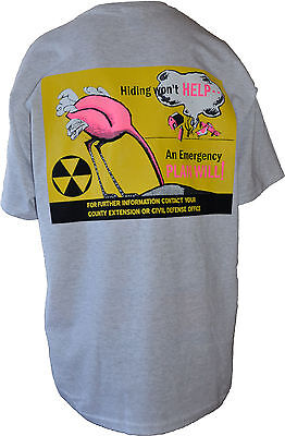 Retro Civil Defense T-Shirts From Orig. Poster Designs ( Ostrich-Ash)