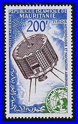 Mauritania 1963-64 Telecommunication Satellites / Space Mnh Cv$8.85 (K-Dec)