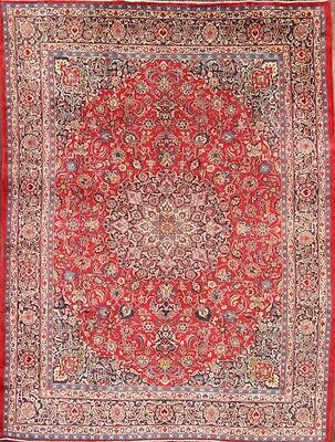"Great Deal 10x13 Mashad Persian Area Rug Wool Oriental Carpet 13' 0"" x 9' 9"""
