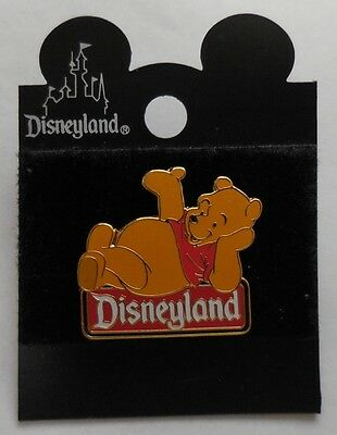 Disney Pin DLR Disneyland Character Sign Series Winnie the Pooh Pin