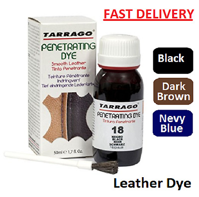 TARRAGO Leather Shoe & Boot Dye Hand Bag KIT to Restore Colour Scratch Scuffs