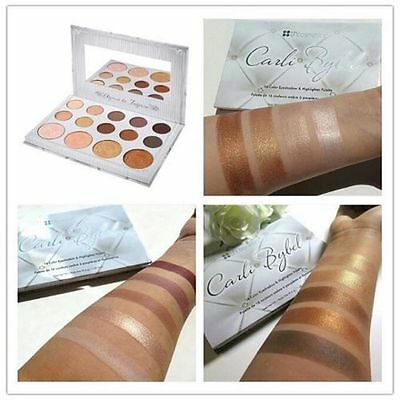 Carli Bybel 14 Color Eye shadow & Highlighter Palette BH Cosmetics UK seller!!!!