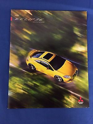 2009 Mitsubishi Eclipse Sales and Promotional Brochure