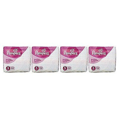 Pampers Premium Protection Active Fit Nappies, Monthly Saving Pack Size 5 x 136
