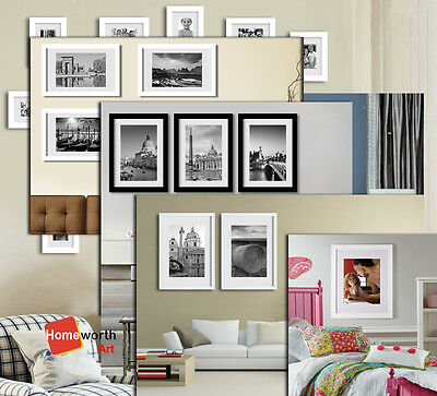 HC25 Wood Photo Frame Gallery Picture Art Decor frames