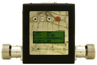 13.56MHz 10kW 1% Accuracy RF Power Meter with NIST trceability Certification