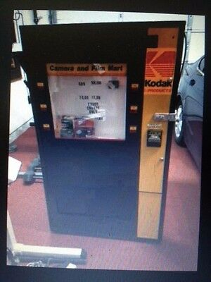 Kodak disposable vending machine. Good condition