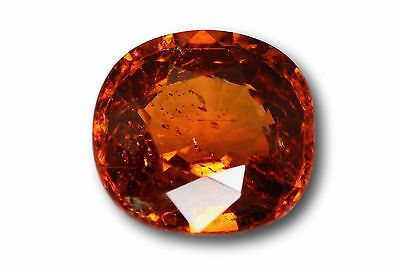 Grenat Spessartine Fanta 1.63 carat orange