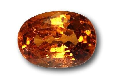 Grenat Spessartine Fanta naturel 0.90 carat orange