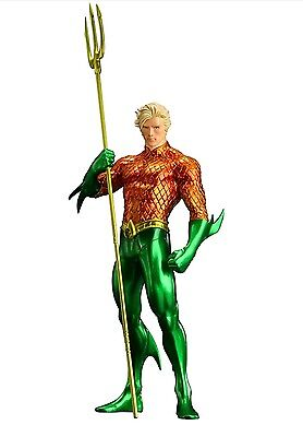 Kotobukiya AQUAMAN DC Comics The New 52 - Justice League ArtFX+ Magnetic Statue!