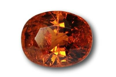 Grenat Spessartine Fanta naturel 1.02 carat orange