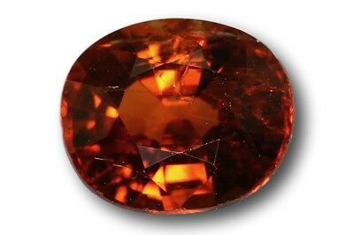 Grenat Spessartine Fanta naturel 1.04 carat orange