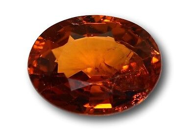Grenat Spessartine Fanta 1.08 carat orange