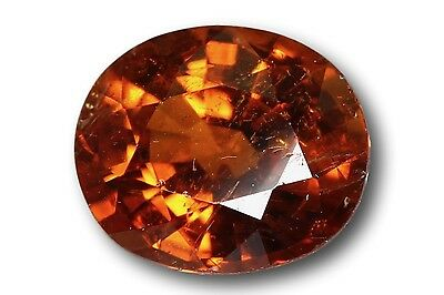 Grenat Spessartine Fanta naturel 1.25 carat orange